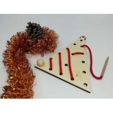 Decoraţiuni Crăciun - Să ȋnvăţam să coasem -brad