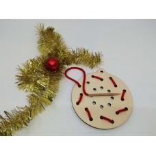 Decoraţiuni Crăciun - Să ȋnvăţam să coasem -glob