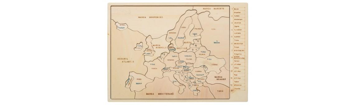 Hai să ȋnvăţăm despre Europa!