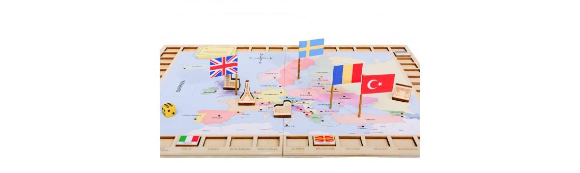 Capitalele şi steagurile EUROPEI