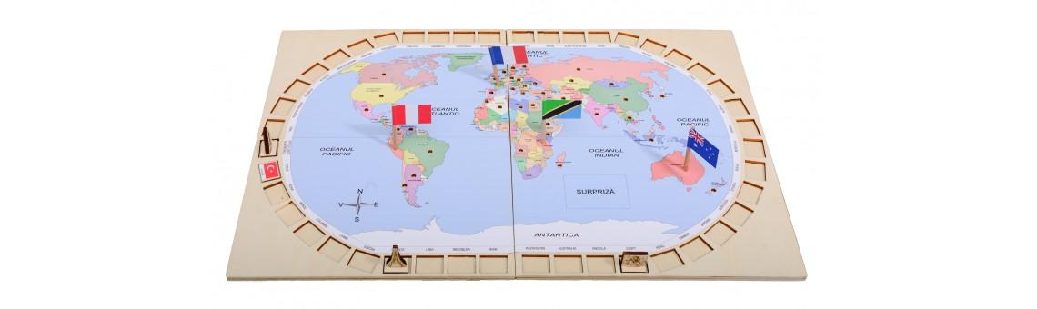 Capitalele şi steagurile LUMII